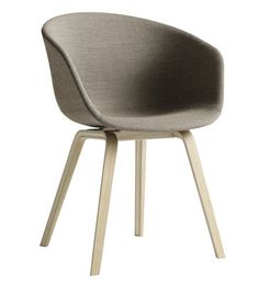 Fauteuil About a chair version tissu - 4 pieds