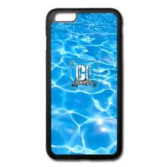Now THAT is a Phone case that makes a statement that you are a Swimmer. Your home away from home stamped with the trademark Chlorine Periodic Table Logo.