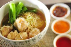 Hong Kong Style Wonton Noodle Soup by InterContinental Hong Kong, via Flickr