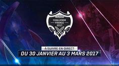 Lyon e-sport accueillera la finale du Challenge France 2017 - Du 3 au 5 mars 2017, vivez un week-end 100% League of Legends au Palais des Sports de Lyon. La Lyon e-Sport #10 accueillera notamment la finale de la coupe de France en ouverture.