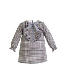VESTIDO/EVE CHILDREN Girls Dresses Sewing, Sewing Kids Clothes, Toddler Girl Dresses, Baby Girl Dress Patterns, Baby Dress, Boho Baby Clothes, Flannel Dress, Little Girl Dresses, Eve Children