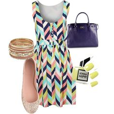A fashion look from October 2013 featuring Louche dresses, J.Crew flats and Salvatore Ferragamo tote bags. Browse and shop related looks.