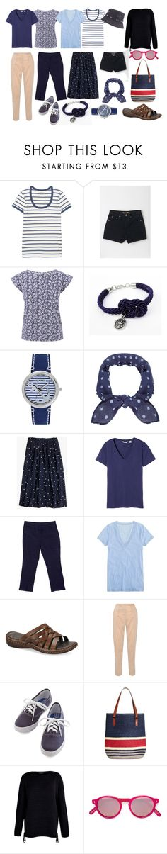 """""""Lake House Prep"""" by arielibra ❤ liked on Polyvore featuring Madewell, Sperry, Humble Chic, J.Crew, Uniqlo, Charter Club, Børn, By Malene Birger, Keds and Brooks Brothers"""