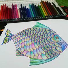 """#lostocean #johannabasford #coloringbook #coloringbooks #colores ##colors"""
