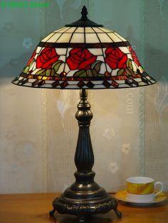 Rose Tiffany Lamp 16S0-36T615