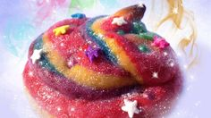 disco-sparkly unicorn poop cookies  If unicorns fart rainbows, it only makes sense that they would poop out delicious, multicolored baked goods- gross and totally funny at the same time in my warped humor