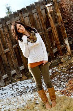 CarahAmelie - Outfit Ideas - Outfit Ideas - 1.15.12 - Bohemian Winter