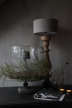 Country Chic, Rustic Decor, Restoration, Candle Holders, Sweet Home, Table Lamp, Candles, Living Room, Cool Stuff