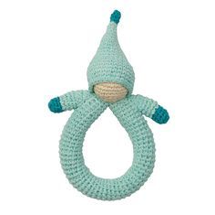 Organic Crocheted Doll Rattle – Nova Natural Toys & Crafts