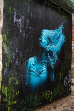 Street Art...Misty. S) #street_style_españa