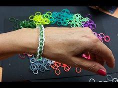 Ideen mit Herz - Loom Bänder - Armband Idee Nr. 1 (mit der Gabel)