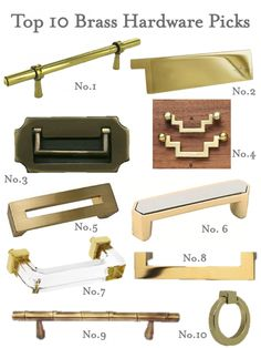 top 10 brass hardware