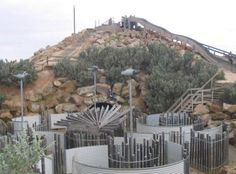 St.Kilda Adventure Playground  - Adelaide, Australia   From David Israel's 10 Unusual Playgrounds from Around the World
