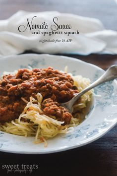 Nomato Bolognese (AIP) {Sweet Treats: food, photography, life}