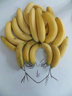 Goku super bananas