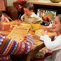 Printable Thanksgiving TV Bingo (Thanksgiving Games for Kids) | Thanksgiving Games & Activities | FamilyFun