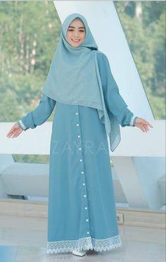 Hijab Style Dress, Casual Hijab Outfit, Dress Outfits, Muslim Women Fashion, Islamic Fashion, Abaya Fashion, Fashion Dresses, Style Hijab Simple, Moslem Fashion