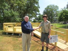 Scout builds outdoor classroom as Eagle project