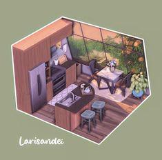 Sims 4 House Design, 3d Home Design, Home Building Design, Lotes The Sims 4, Sims Four, Sims Cc, Sims 4 House Plans, Sims 4 House Building, Play Sims 4