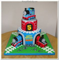 Incredible Thomas the Train Cake!