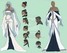 Water Turn by *lady-blackwings on deviantART Looks like formal wear for Avatar Korra Cosplay, Anime Outfits, Cool Outfits, Character Design Inspiration, Style Inspiration, Style Feminin, Avatar Characters, Fantasy Dress, Drawing Clothes