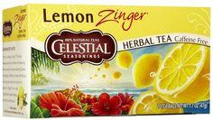 Celestial Seasonings Lemon Zinger herbal tea
