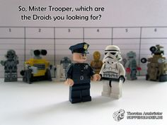 lego, noppenquader, star wars, droid, droide, stromtrooper, polizei, police, moc, legophotography, minifig, minifigs
