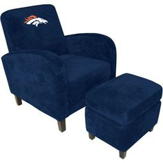 Denver Broncos chair..... Love it!