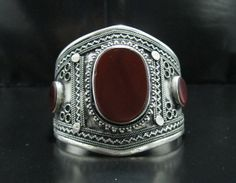 FREE SHIPPING Vintage Kuchi Tribal Aqeeq Carnelian by CraftEast, $50.00