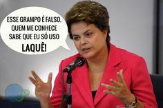 "Post  #: Dilma comenta sobre ""grampo"" da Polícia Federal......"