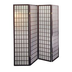 ORE International 4Panel Room Divider Cherry -- To view further for this item, visit the image link.