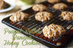 Peanut butter Banana Honey Cookies