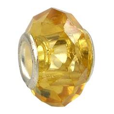 yellow topaz crystal