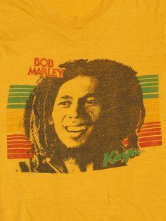 Vintage Bob Marley T-shirt Kaya 1978