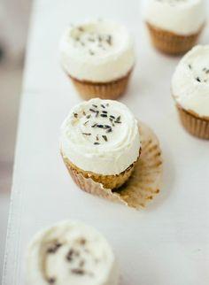 Vanilla Lavender Cupcakes: Cupcakes #cupcakes #cupcakerecipes #vanilla #vanillacake
