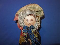 Dolly Varden Rare All Cloth Doll from sarabernsteindolls on Ruby Lane