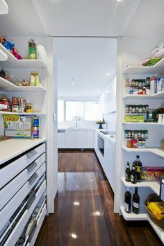 Scullery/walk in pantry organisation
