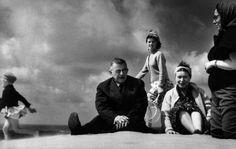 Simone de Beauvoir and Jean-Paul Sartre, Nida, Lithuania, 1965. Photo: Antanas Sutkus.