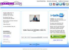 i-talk24 So sieht der Empfänger Ihrer Sprachnachricht das Kontrollcenter und kann die Nachricht abrufen und speichern. Details: http://www.i-talk24.com