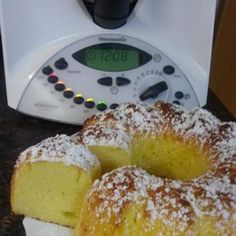 Semolina curd cake- Grieß-Quark Kuche Grieß-Quark Kuche by LenuschkaM at www.de, the Thermomix ® Community - Pastry Recipes, Dessert Recipes, Baking Recipes, Lidl, Egg Recipes For Breakfast, Oreo Dessert, French Pastries, Pastry Cake, Sweet Cakes