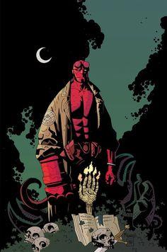Hellboy dans les comics