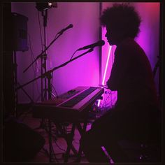 Photo by deVon Gray: Silhouette of a great lady. #woodend #bowlingandtennisclub #glasgow #ilefthometour @chastity_brown