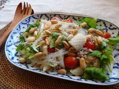 タイ風の春雨サラダ