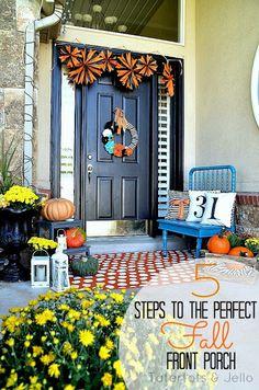 25  Outdoor Fall Decor Ideas