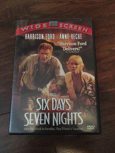 Six Days, Seven Nights (DVD, 1998) comedy romance film Han Solo Free shipping 717951000866   eBay