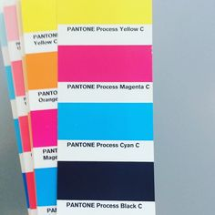 #pin #mghw #pantone colour research for our next #stickers
