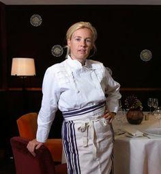 La grande chef cuisinier Hélène Darroze.