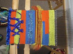 Yarns, metal chains, and ribbons. It's all art. SteveBaileyArt@aol.com