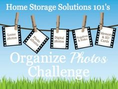 organize photos challenge