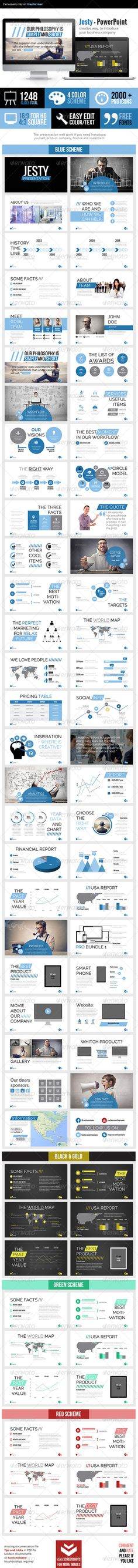 Jesty Powerpoint Presentation - Business Powerpoint Templates